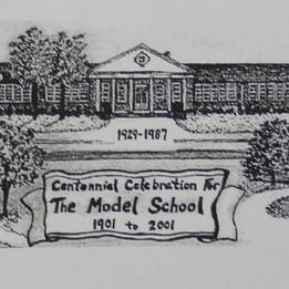 Model Centennial Celebration Photo - 1901-2001