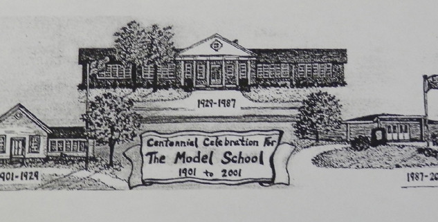 Model Centennial Celebration Photo - 1901-2001
