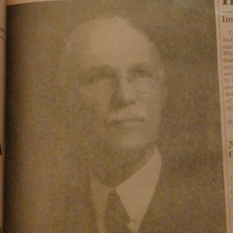 1916-1925 Mr. William L. Lyall - President of Brighton Mills