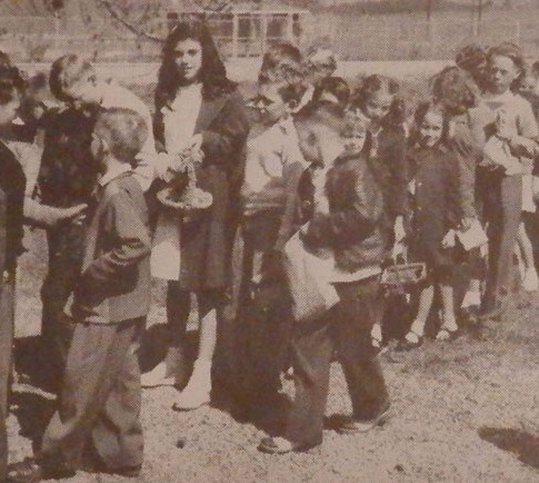 Easter Egg Hunt 1948
