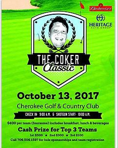 The Coker Classic flyer