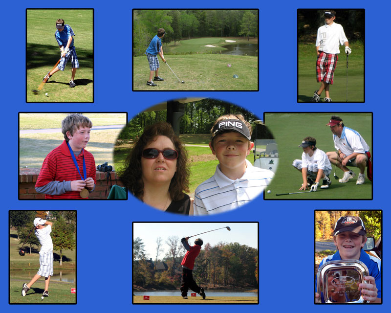Photo collages make wonderful customized gifts!