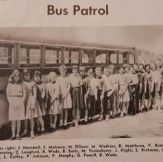 Model Bus Patrol 1961-62