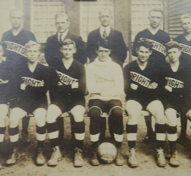Early (20's or 30's) Brighton Basketball Team