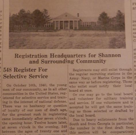 548 Register for Service - 1940