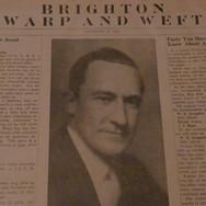 Mr. Morrison - President of Brighton Mills 1939
