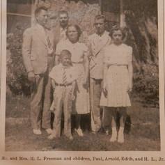 H. L. Freeman family
