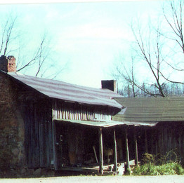 Charles Johnston homeplace in late 1900's, then owned by Bethel Davis.  Home is no longer standing.