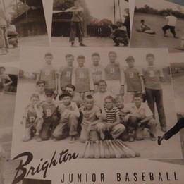 Brighton's Junior Baseball Team - 1946
