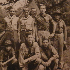 1945 Group of Brighton Scouts