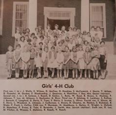 Girls' 4-H Club.