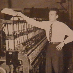 Bill Sherman is head of Brighton's Cost Department - 1946