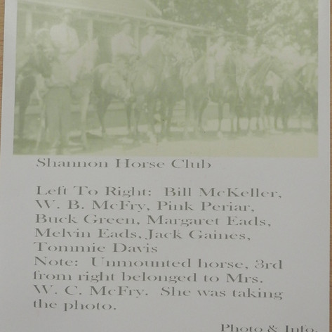 Shannon Horse Club