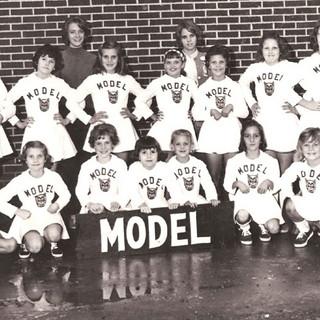 1964-65 Model cheerleaders