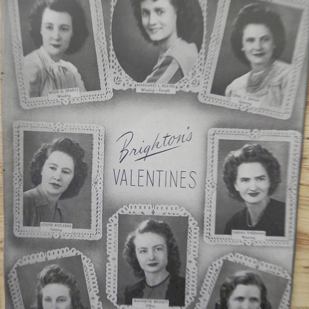 Valentines voted on by Departments at Brighton Mill