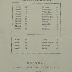 1954 Football Season