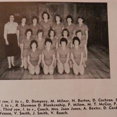 Girls' Elementary Basketball Team