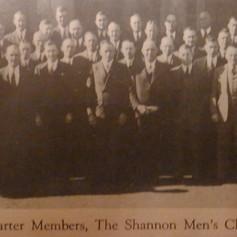 Shannon Men's Club - 1941