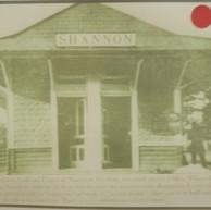 Southern Railway Depot in Shannon, Georgia