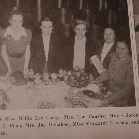 Health for Victory Club Food Conest Winners - 1942