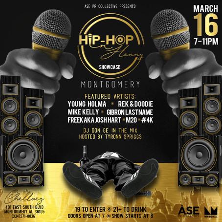 Hip-Hop & Henny Kicks Off Unsigned Artist's Showcase