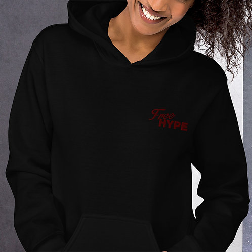 FreeHype Stitched Logo Hoodie