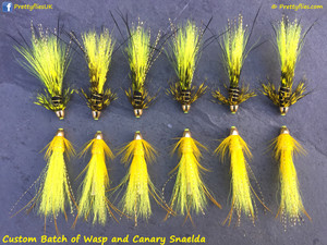 Custom Batch of Wasp and Canary Snaelda