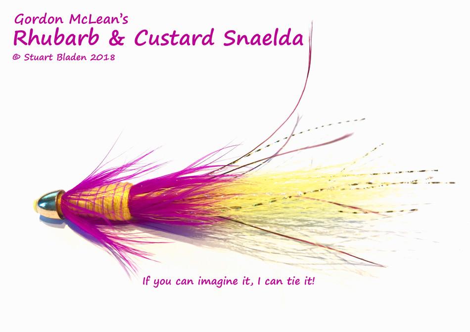 Rhubarb and Custard: Making Custom Flies Fun