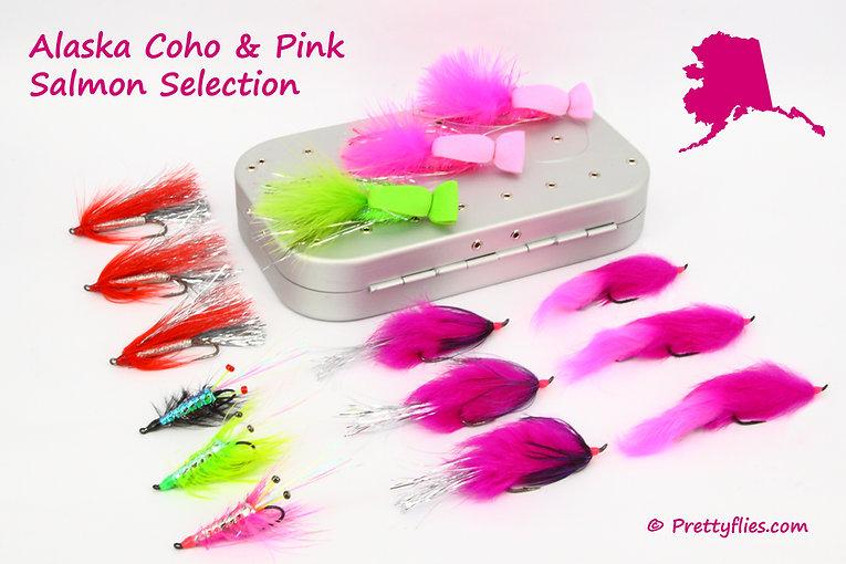 Alaska Coho and Pink Salmon Selection 1