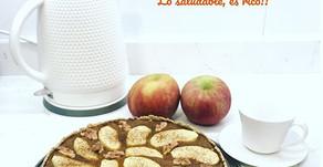 Tarta de Manzana Saludable
