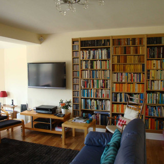 Family room and a place to read