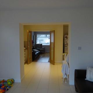 Easy access between rooms