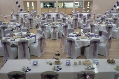 A Wedding catering for 240 guests