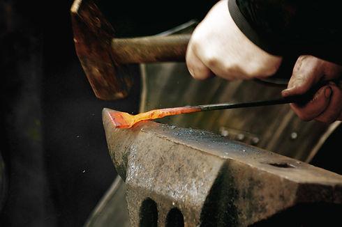 Trabajador del hierro fuego