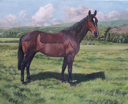 "Scottish racehorse ""Nisbet"""