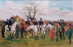 The Quorn Meet at Widmerpool Grange