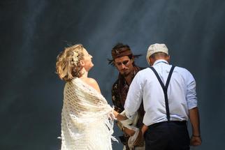 Mariage chamanique célébration savoie maurienne france union sacrée hakena