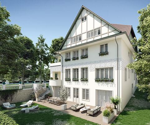 Villa, Hietzing, Wien, Garten, Jugendstil, renoviert, Luxus, Garten, Luxuswohnung