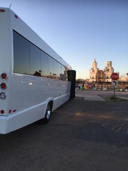 """The Beast"" Party bus @ San Xavier"