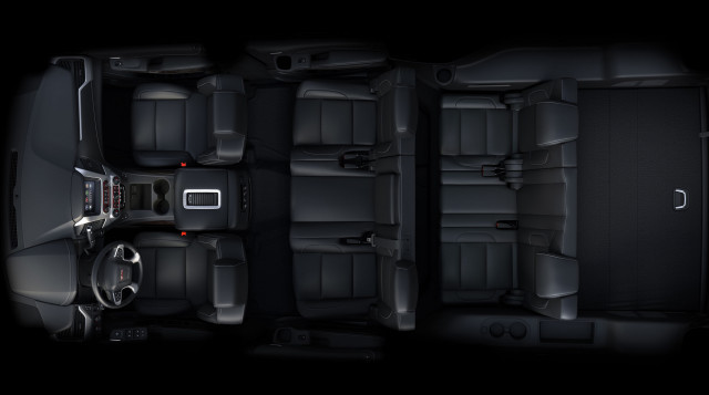 Chevrolet Suburban SUV Interior