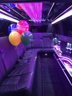 Black Lincoln MKT Interior