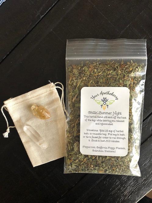 Chillaxin' Summer Nights Herbal Bath Set