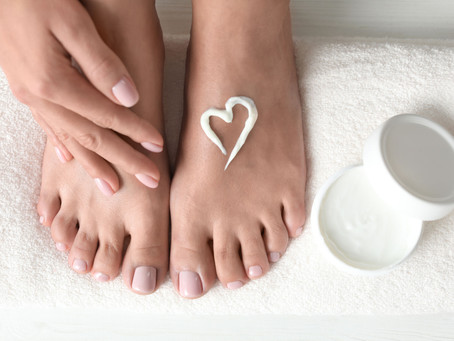 3 ways to give your feet a bit of love for Valentines Day.