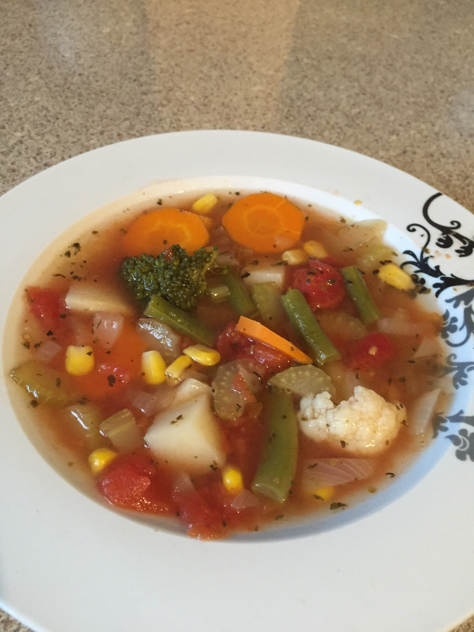 Country Harvest Vegetable Soup