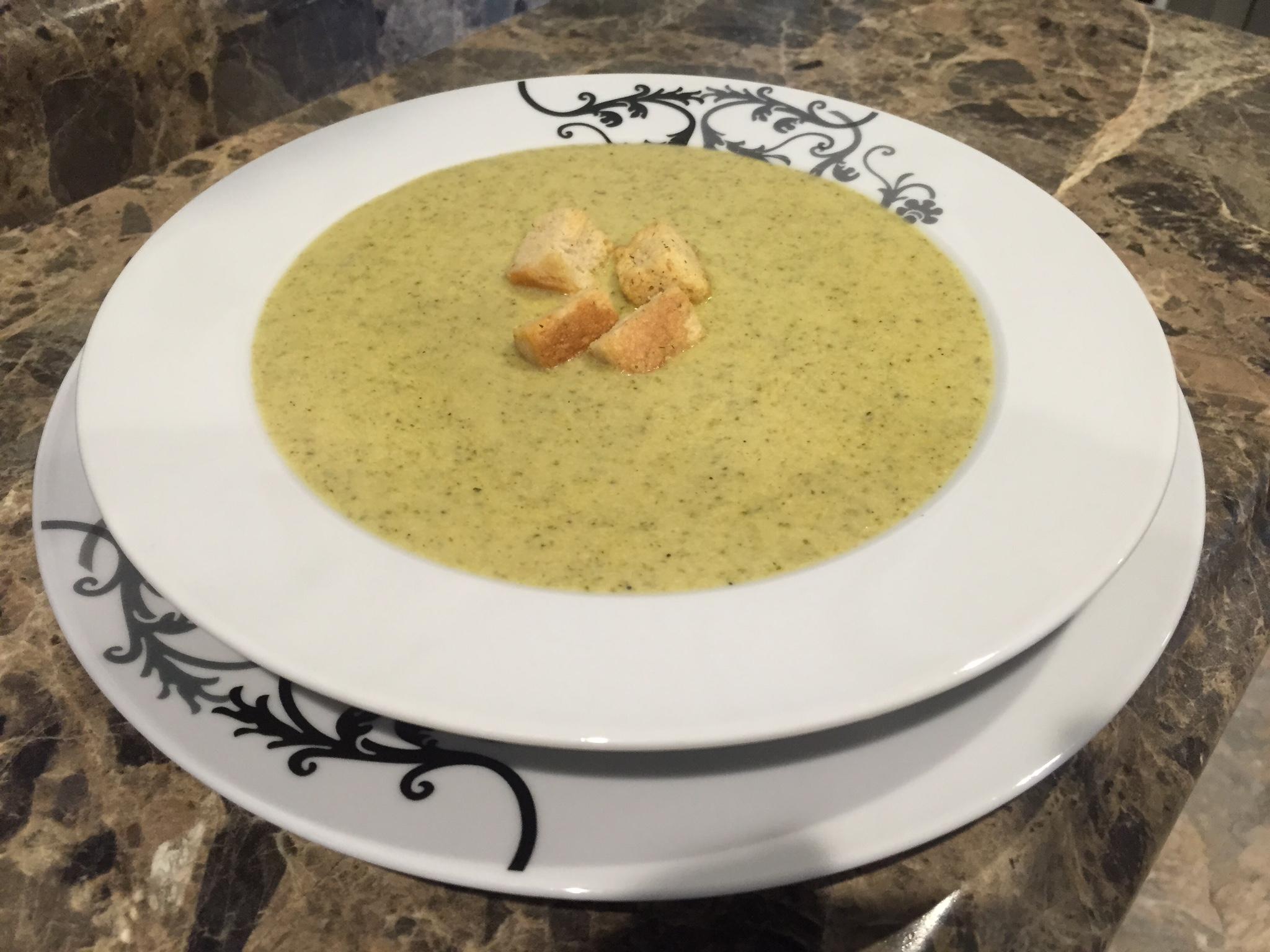 Brocolli & Cheddar Soup