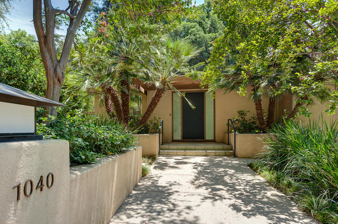 Stunning mid-century modern home in Pasadena