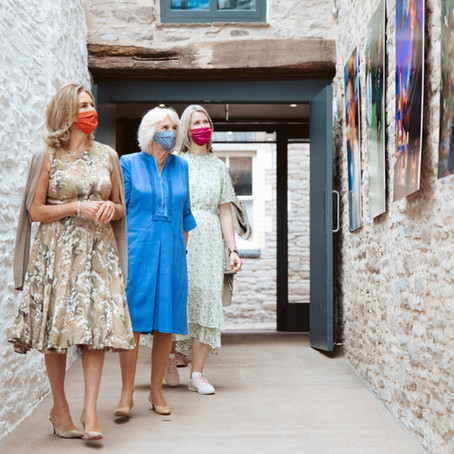 Duchess of Cornwall Visits Hay-on-Wye