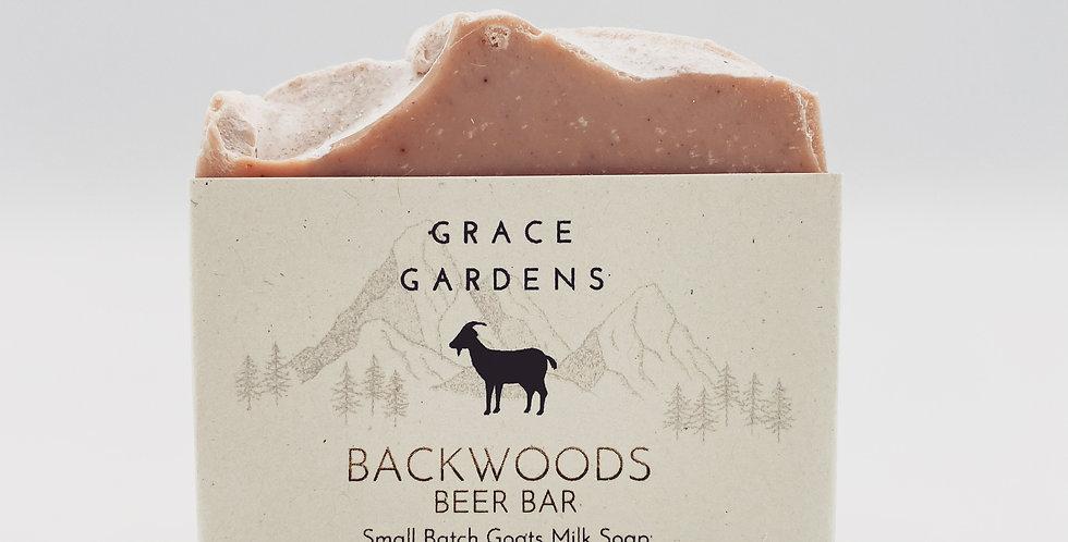 NEW product alert!!! BACKWOODS Beer