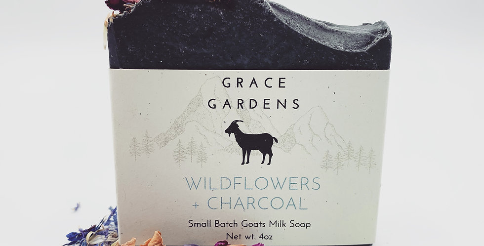 LIMITED EDITION Wildflowers + Charcoal