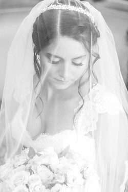 black&white bridals